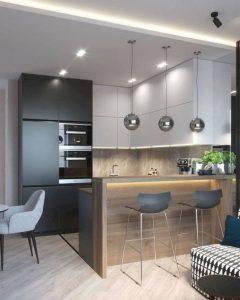 16 Amazing Modern Kitchen Cabinets Design Ideas 06