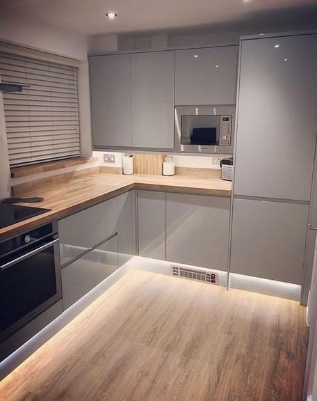 16 Amazing Modern Kitchen Cabinets Design Ideas 13