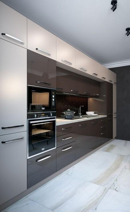 16 Amazing Modern Kitchen Cabinets Design Ideas 14