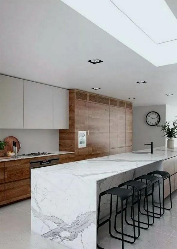 16 Amazing Modern Kitchen Cabinets Design Ideas 20