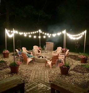 16 Awesome Winter Patio Decorating Ideas With Fire Pit 14