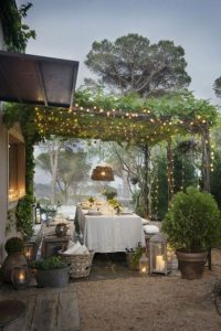 16 Awesome Winter Patio Decorating Ideas With Fire Pit 18