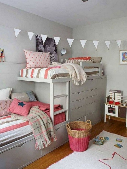 16 Best Choices Of Kids Bunk Bed Design Ideas 13