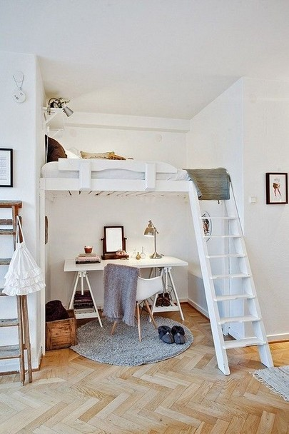 16 Bunk Beds Design Ideas With Desk Areas Help To Make Compact Bedrooms Bigger 06