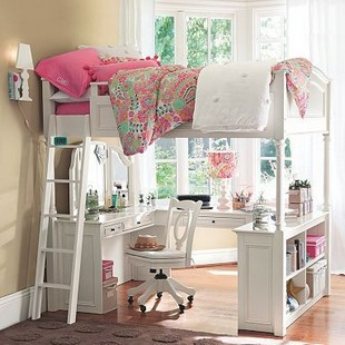 16 Bunk Beds Design Ideas With Desk Areas Help To Make Compact Bedrooms Bigger 11