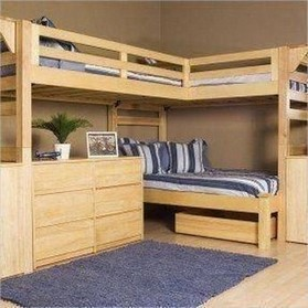 16 Bunk Beds Design Ideas With Desk Areas Help To Make Compact Bedrooms Bigger 16
