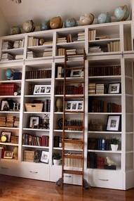 16 Fantastic Floor To Ceiling Bookshelves With Ladder 05