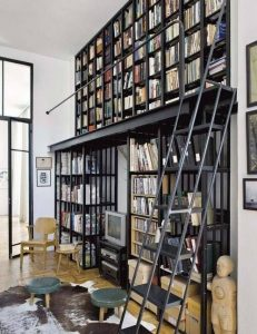 16 Fantastic Floor To Ceiling Bookshelves With Ladder 08