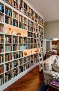 16 Fantastic Floor To Ceiling Bookshelves With Ladder 13