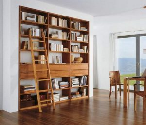 16 Fantastic Floor To Ceiling Bookshelves With Ladder 19