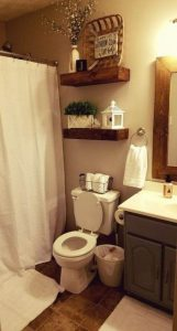 16 Kinds Of Farmhouse Bathroom Accessories Ideas 19