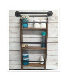 16 Models Bathroom Shelf With Industrial Farmhouse Towel Bar – Tips For Buying It 17