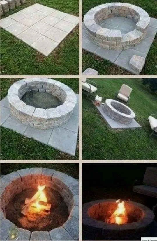 16 Most Popular Backyard Fire Pits Design Ideas 17