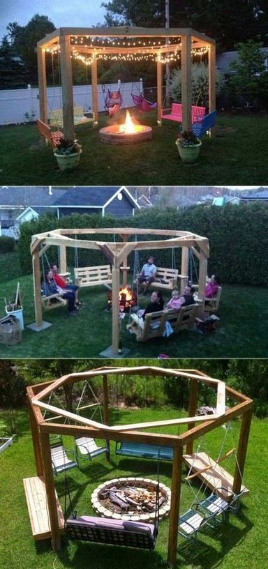 16 Most Popular Backyard Fire Pits Design Ideas 20