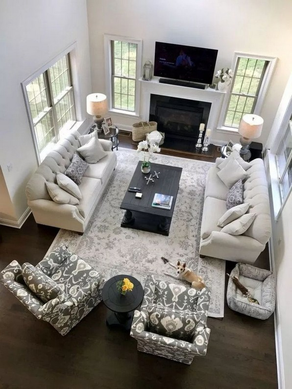 17 Best Of Living Room Design Layout Decoration Ideas 14