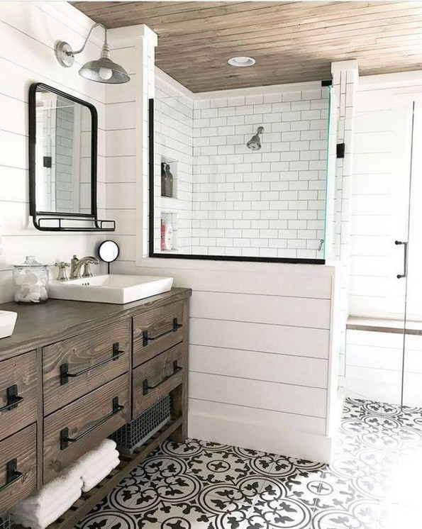 17 Best Of Modern Farmhouse Bathroom Vanity Decoration Ideas 02