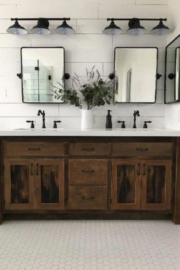 17 Best Of Modern Farmhouse Bathroom Vanity Decoration Ideas 03