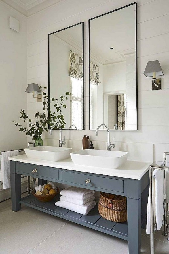 17 Best Of Modern Farmhouse Bathroom Vanity Decoration Ideas 11