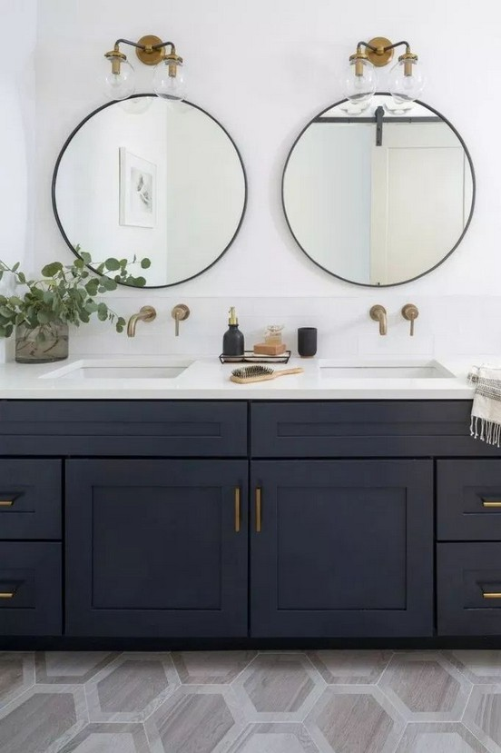 17 Best Of Modern Farmhouse Bathroom Vanity Decoration Ideas 18