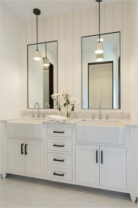 17 Best Of Modern Farmhouse Bathroom Vanity Decoration Ideas 19