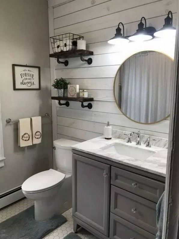 17 Best Of Modern Farmhouse Bathroom Vanity Decoration Ideas 20