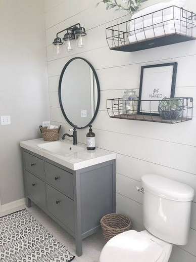 17 Best Of Modern Farmhouse Bathroom Vanity Decoration Ideas 22