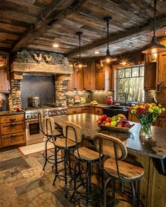 17 Best Rustic Kitchen Design You Have To See It 16