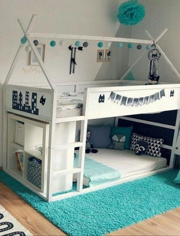 17 Kids Bunk Bed Decoration Ideas 08