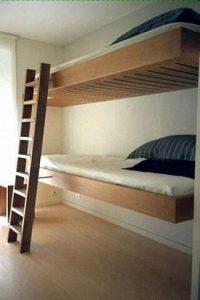 17 Most Popular Floating Bunk Beds Design 01