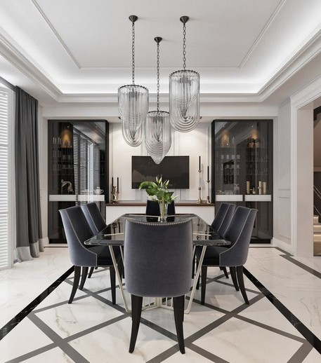 17 Most Popular Of Modern Dining Room Tables In A Contemporary Style 13