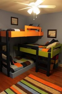 17 Top Picks For A Triple Bunk Bed For Kids Rooms 04