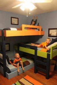 17 Top Picks For A Triple Bunk Bed For Kids Rooms 17