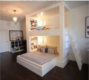 18 BBunk Bed Design Ideas With The Most Enthusiastic Desk In Interest 10