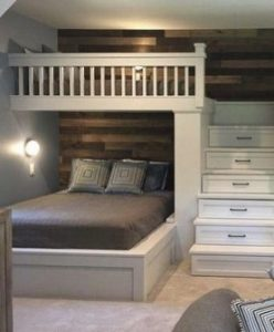 18 BBunk Bed Design Ideas With The Most Enthusiastic Desk In Interest 16