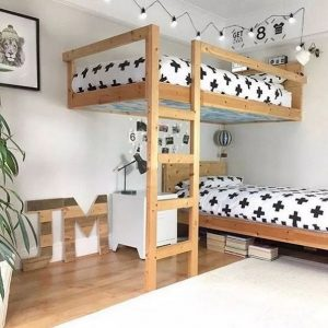 18 BBunk Bed Design Ideas With The Most Enthusiastic Desk In Interest 18