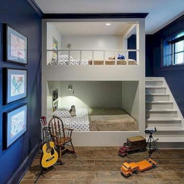 18 Boys Bunk Bed Room Ideas – 4 Important Factors In Choosing A Bunk Bed 13