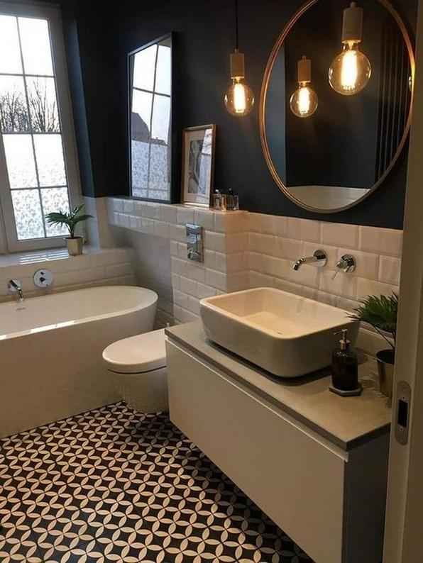 18 Comfy Bathroom Floor Design Ideas 04