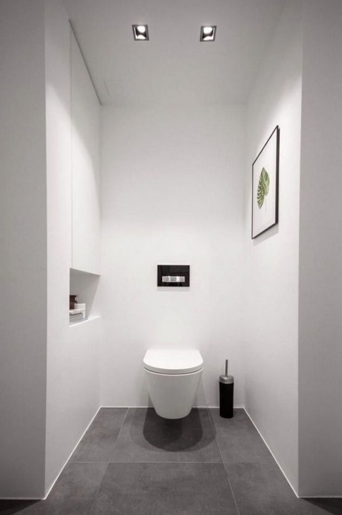 18 Comfy Bathroom Floor Design Ideas 05