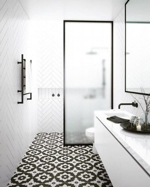 18 Comfy Bathroom Floor Design Ideas 09