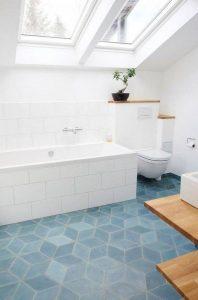 18 Comfy Bathroom Floor Design Ideas 10