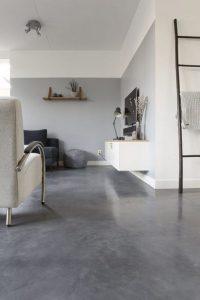 18 Comfy Bathroom Floor Design Ideas 12