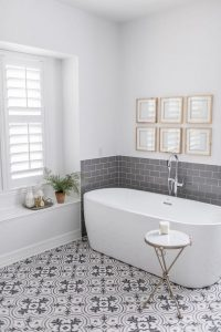 18 Comfy Bathroom Floor Design Ideas 15