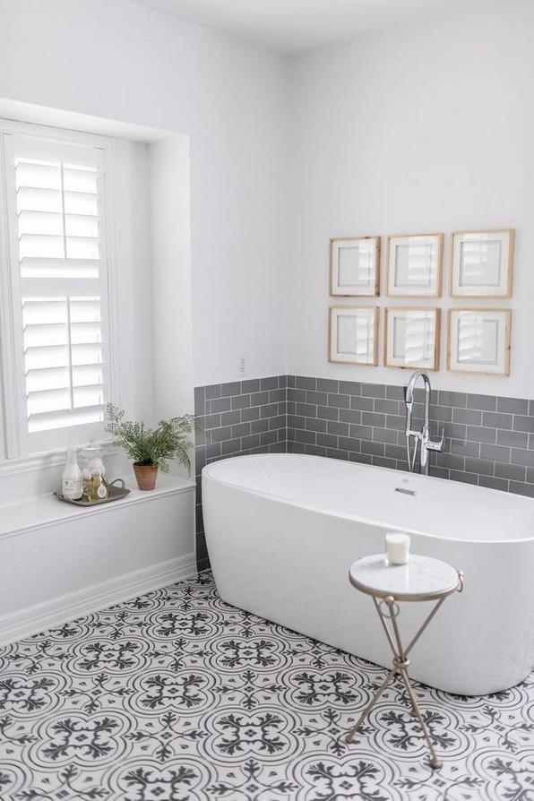 18 Comfy Bathroom Floor Design Ideas 15
