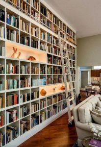 18 Fantastic Floor To Ceiling Bookshelves With Ladder 03