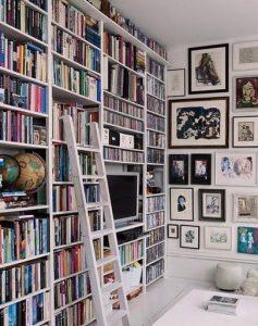 18 Fantastic Floor To Ceiling Bookshelves With Ladder 12
