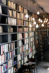 18 Fantastic Floor To Ceiling Bookshelves With Ladder 18