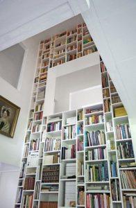 18 Fantastic Floor To Ceiling Bookshelves With Ladder 19