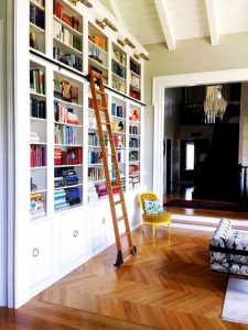 18 Fantastic Floor To Ceiling Bookshelves With Ladder 27