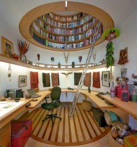 18 Fantastic Floor To Ceiling Bookshelves With Ladder 30