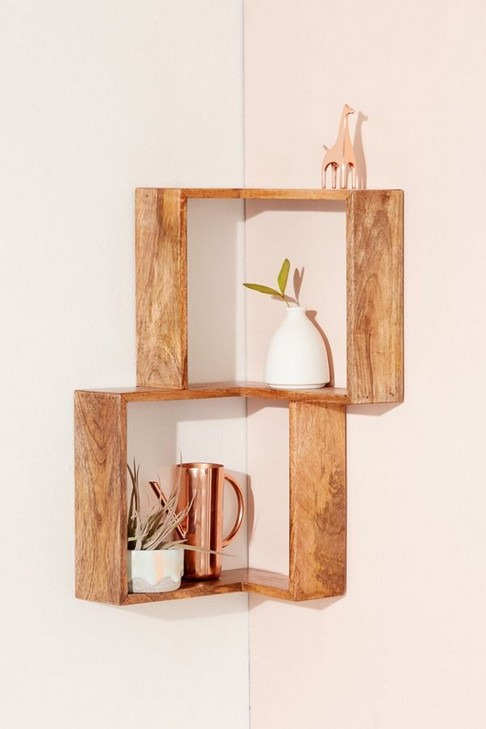 18 Luxury Corner Shelves Ideas 12
